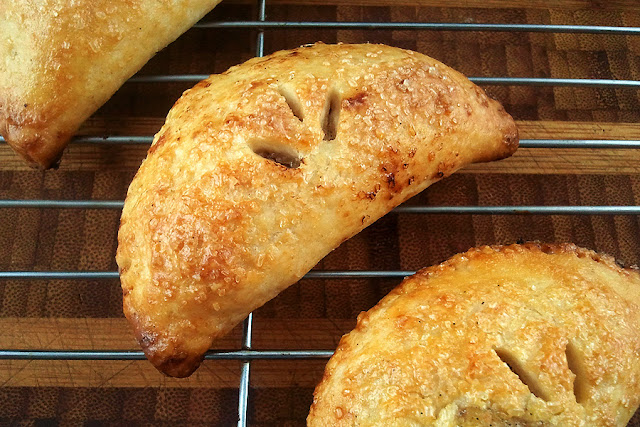 Peach Melba Hand Pies Recipe