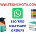 SSC/RRB WHATSAPP GROUP LINKS