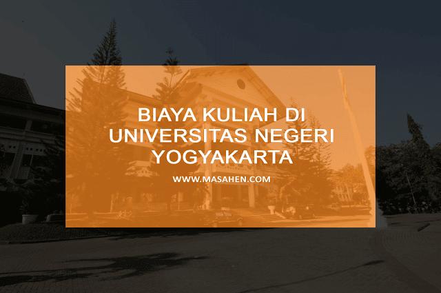 Biaya Kuliah di UNY