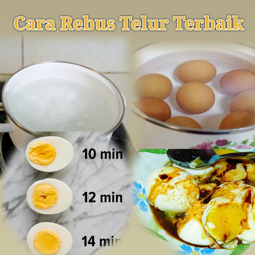 Cara Rebus Telur Terbaik