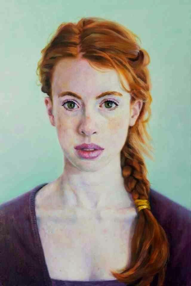 Комбинация живописи с цифровой фотографией. Herman Tjepkema