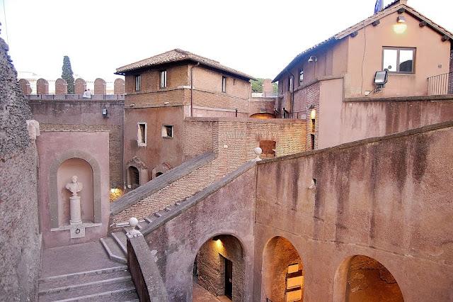 Castelo de Sant'Angelo em Roma
