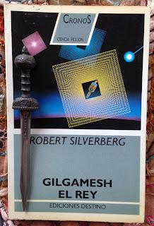 Portada del libro Gilgamesh el rey, de Robert Silverberg