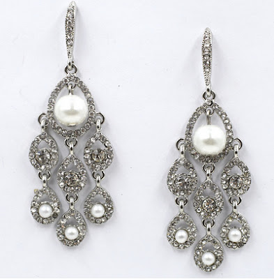Yosa Delicate Dazzle Drop Earrings