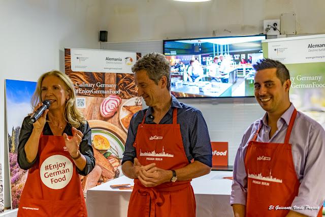 Ulrike, Christian y Carlo por El Guisante Verde Project
