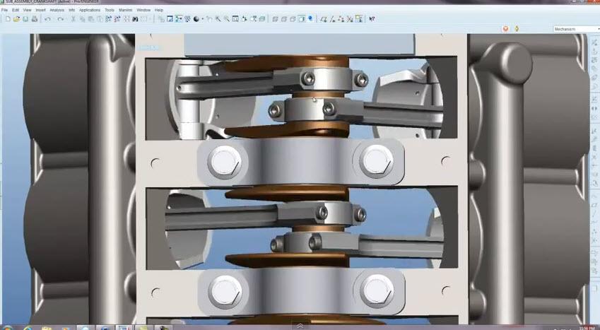 Pro E Engine Design Tutorial Videos Free Download