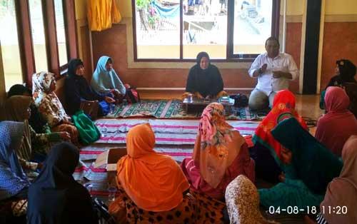 M Nurfahroji Sosialisasi JKN Kepada Ibu-Ibu Majlis Taklim Pantai Hurip