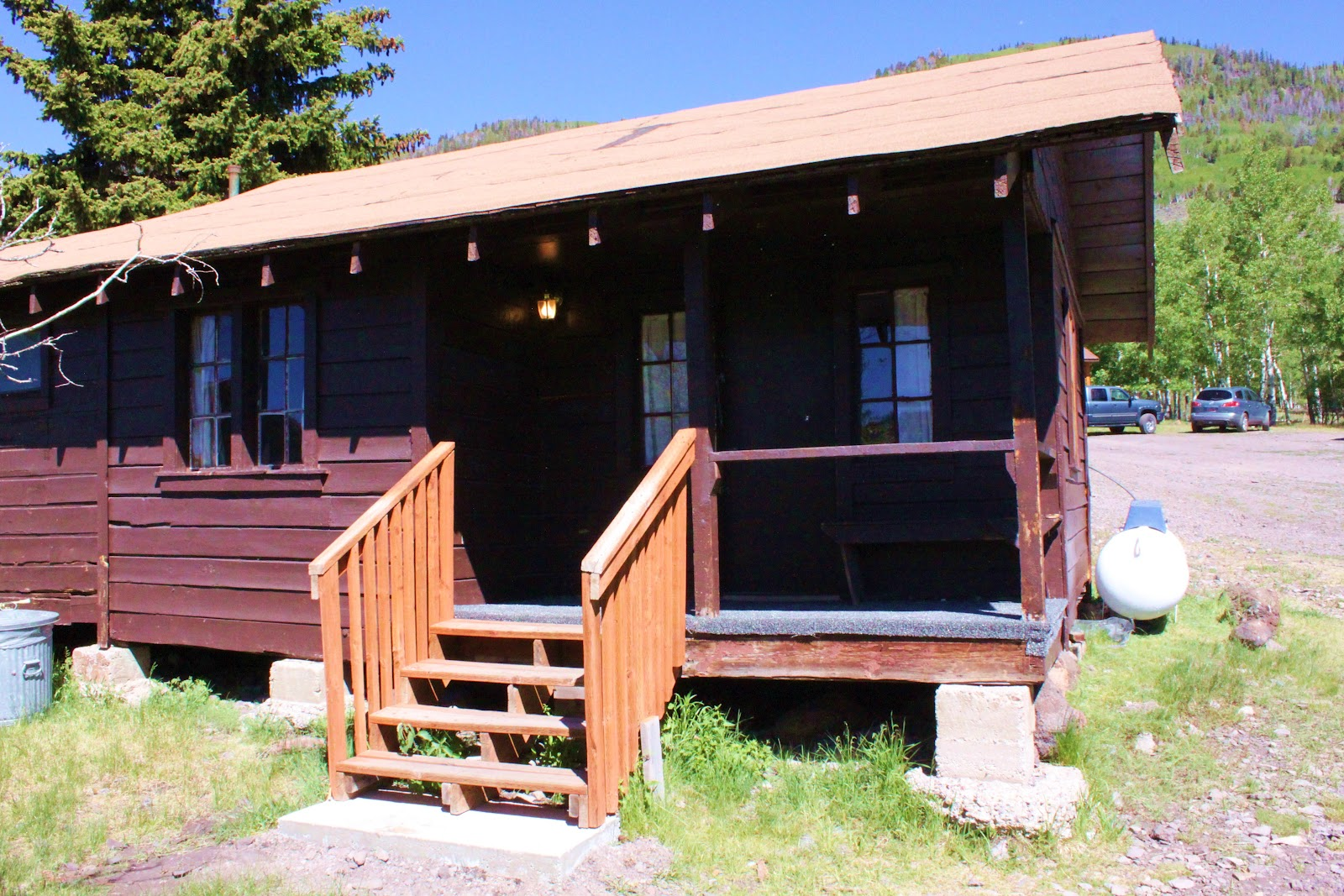 Rental Cabins At Fish Lake Utah Rustic 6 Person Camping