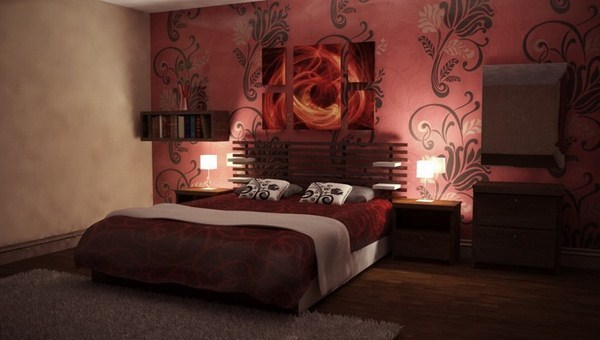 Red Bedroom Design A Cool Decision