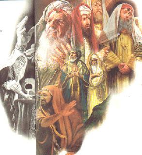 Resultado de imagen para Escribas y fariseos critican el comportamiento de los discípulos de Jesús.