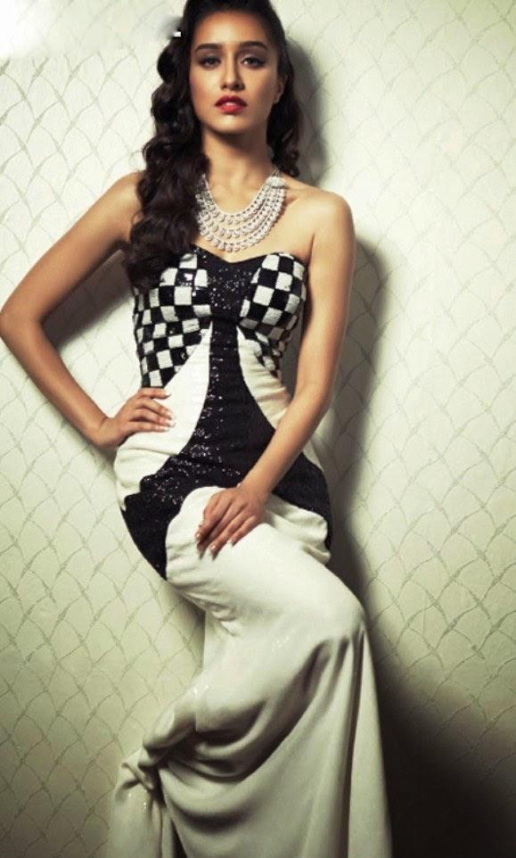 Bollywood Model Shraddha Kapoor Cover Magazine Spicy Photo Shoot Gallery