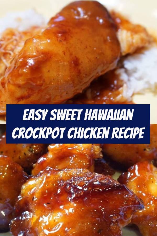 Easy Sweet Hawaiian Crockpot Chicken | Easy Crockpot Chicken Recipe For Family Dinner #crockpot #chicken #crockpotchicken #chickenrecipe #dinner #dinnerideas