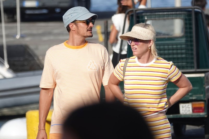 Katy Perry and Orlando Bloom Out at Eolian Islands 2 Aug-2019
