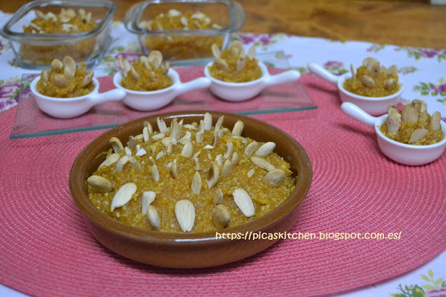ARNADÍ . Pastel de calabaza valenciano