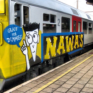 facebook painted trains