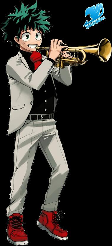 Izuku Midoriya render (Jump Festa)