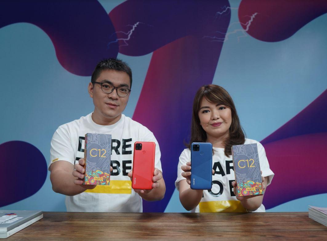 Realme C12 Resmi Diluncurkan di Indonesia, Usung Baterai 6000mAh dan Triple Camera
