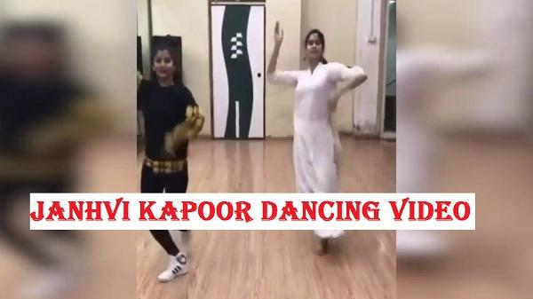 janhvi kapoor dancing video goes viral, janhvi dancing video, janhvi kapoor dancing clip, janhvi kapoor dance, janhvi kapoor new movie, janhvi movies, bollywood news, say cinema,
