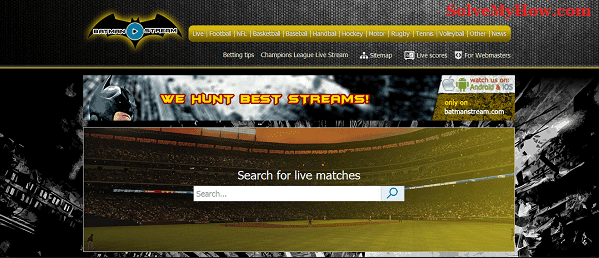 Free Sports Streaming Sites Batman Stream