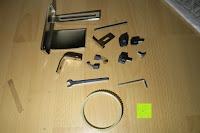 Kleinteile: Defort DEP-900-R Elektrohobel 900 W, Falzfunktion, Spanauswurfsystem