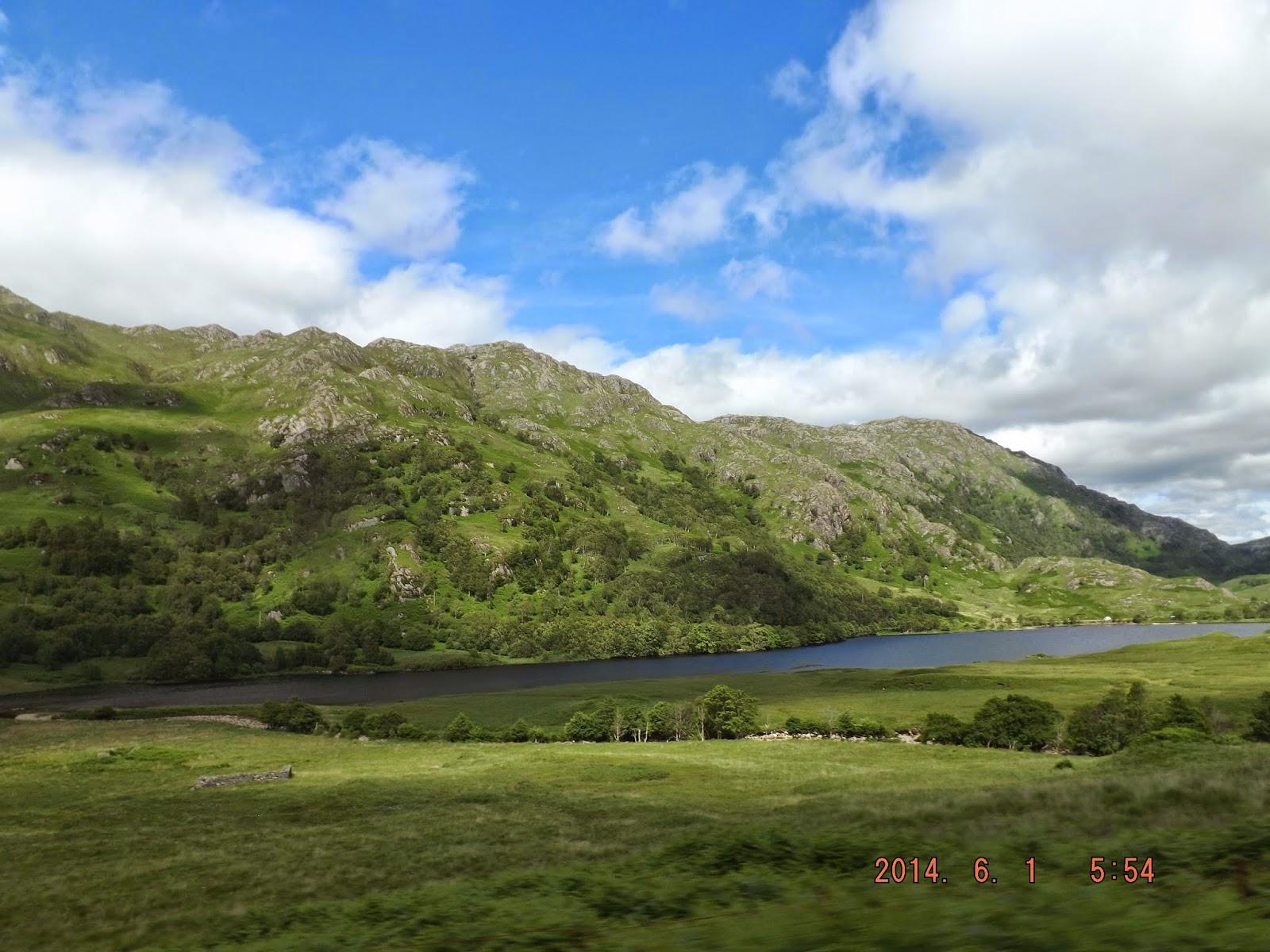 A skót táj zöld és Cape Wrath Harry Potter forgatási helyszín Skóciában