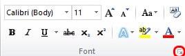 Cara Membuat Coretan Ganda Pada Teks di Ms Word