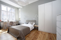Nifty decor for minimalist bedroom idea