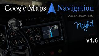 ats google maps navigation night version v1.6
