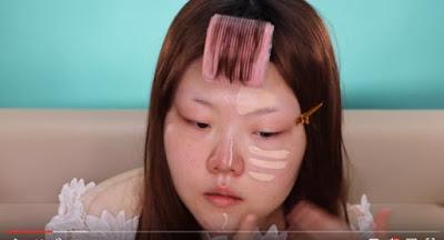 Power Of Make Up, Wanita Korea Buktikan Cantik Gak Harus Oplas