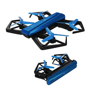 merk drone terbaik Foldable Drone With One-Key Folded In Half H43WH | JJRC