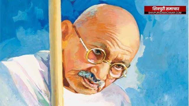 गांधी दर्शन रथ यात्रा शिवपुरी में 03 नवम्बर तक भ्रमण करेंगी | SHIVPURI NEWS