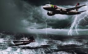 The BERMUDA TRIANGLE swallowing planes and ship