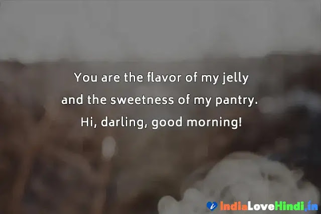 romantic good morning love messages in hindi