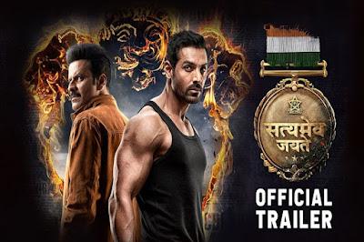 Satyamev Jayate Official Trailer John Abraham and Manoj Bajpayee