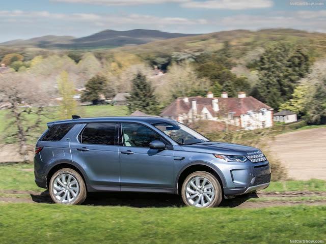 Không có quá nhiều những thay đổi thiết kế thân xe so với Land Rover Discovery Sport phiên bản cũ