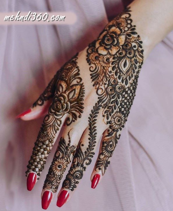 Teenager Special henna Design