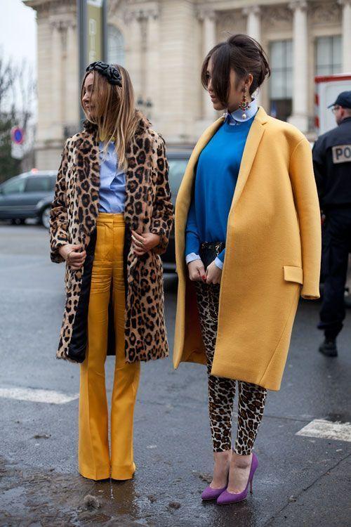 30 looks estiloso com o casaco de onça da estação anadodia ana do dia