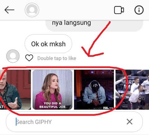 Pilih Gambar GIF yang Diinginkan