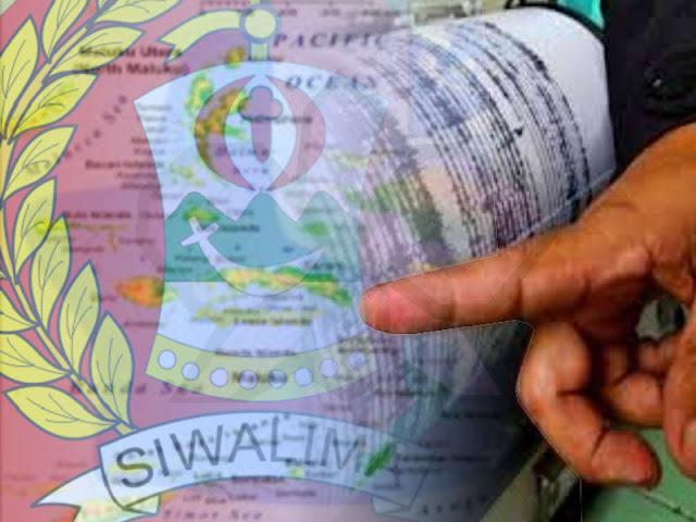 3 Gempa Magnitudo 3 SR Guncang Seram dan Buru