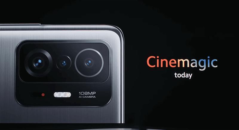 Xiaomi Mi 11T series has a 108MP triple camera system