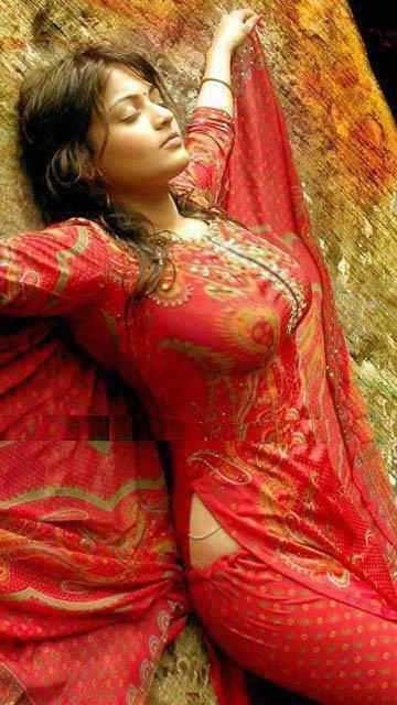 Hot Desi Girls  Mallus Desi Hot Bhabhi In Wet Red -8892