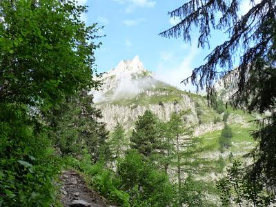 ツール・ド・モンブラン ル・プティからバルム峠
