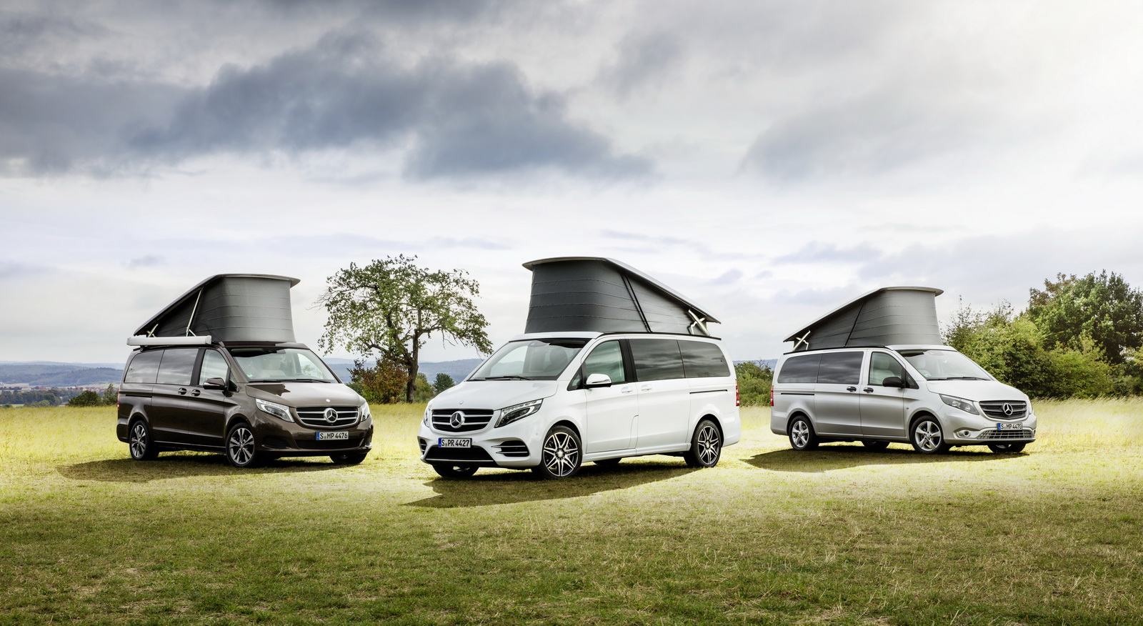 First mercedes x class camper concepts debut in germany for Mercedes benz germany internship