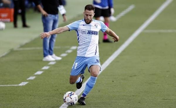 """Calero - Málaga -, sobre su lesión: """"Tuve que volver a ver las imágenes en el autobús de vuelta"""""""