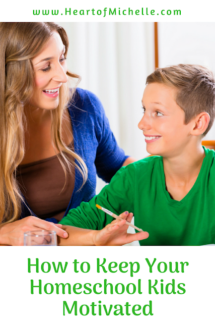 How to keep your homeschool kids motivated