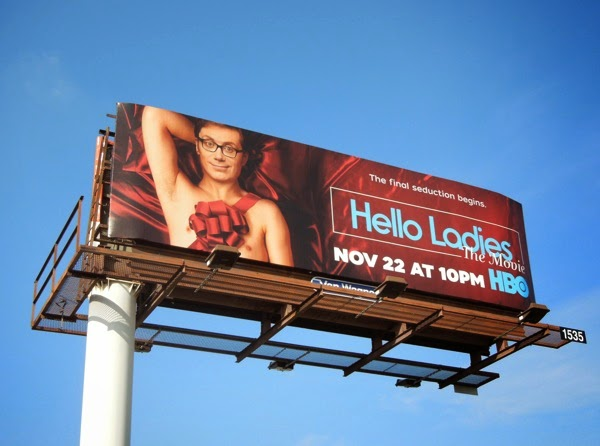 Hello Ladies The Movie billboard