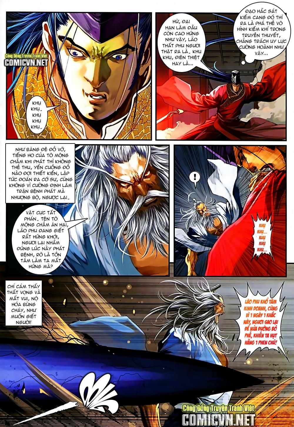 Ôn Thuỵ An Quần Hiệp Truyện Phần 2 chapter 37 trang 6