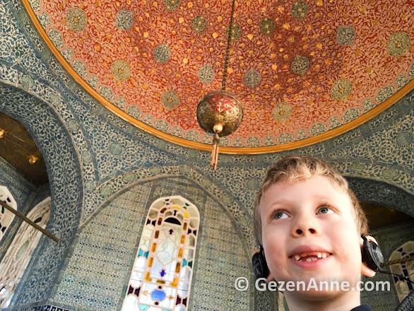 Topkapı sarayı müzesi gezimiz, Bağdat köşkü