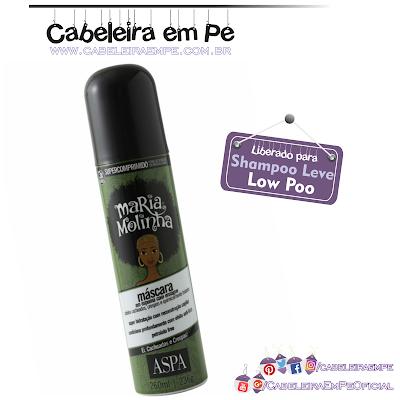 Máscara Em Espuma Com Enxágue Maria Molinha - Aspa