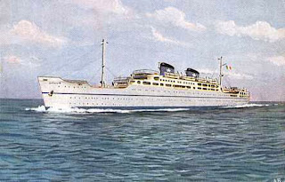 Lauro named his first passenger liner the MS Surriento,  after the Neapolitan dialect name for Sorrento